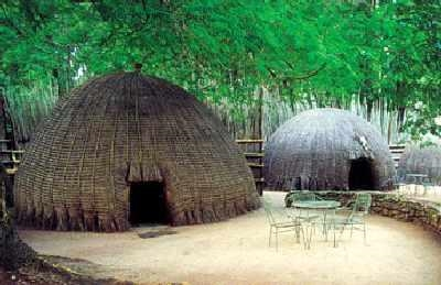 Traditional Swazi Beehive Huts