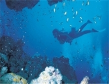Diving in Malawi