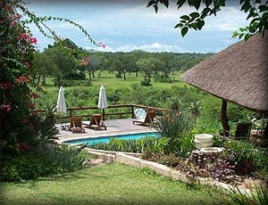 Elephant Plains Game Lodge - View from Standard Room