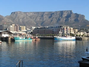 Cape Town, Table Mountain and Waterfront