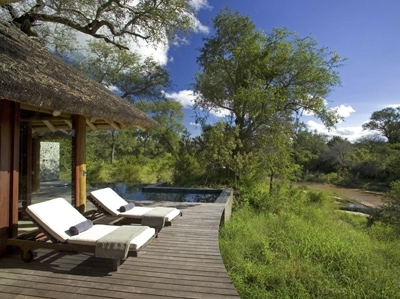 Leadwood Game Lodge Deck