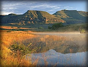 Scenery in the Golden Gate Highlands National Park