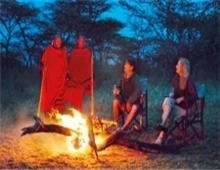 Masai tribal evening
