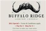 Buffalo Ridge Safari Lodge Special