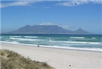 Cape Town, view from Blaauberg Beach