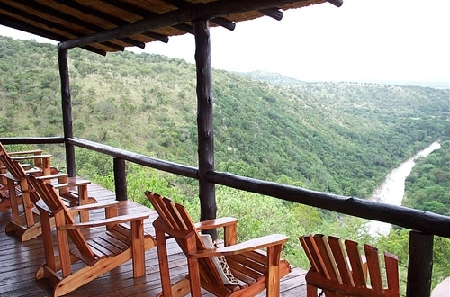 Leopard Mountain Game Lodge View from Main Lodge Deck