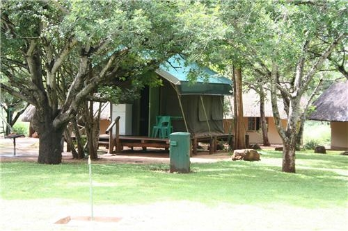 Crocodile Bridge - Safari Tents