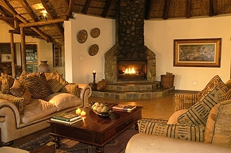 Jackalberry Game Lodge Lounge
