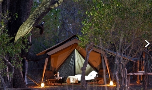Kana Kara Camp Tented Camp Lodge In Okavango Delta