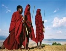 Masai tribal people