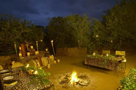 Leopard Mountain Game Lodge Boma