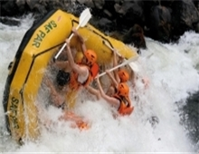 Adventure Activity - White water rafting in Victoria Falls