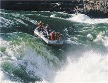 Zambezi River, Fresh water rafting