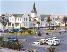 Swakopmund on the coast of Namibia