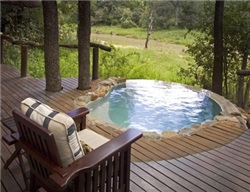 Dulini Game Lodge Suite Deck