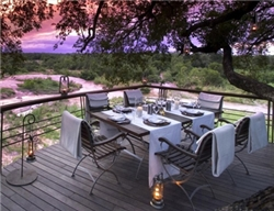 Leadwood Game Lodge Dining