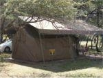 Manyane resort Safari tent