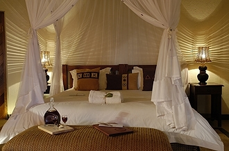 Jackalberry Game Lodge Bedroom