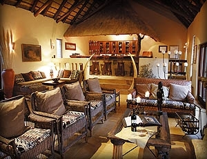 Elephant Plains Game Lodge - Lounge Area