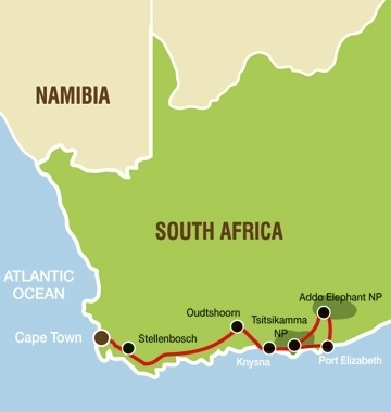 NAPC Trip Route